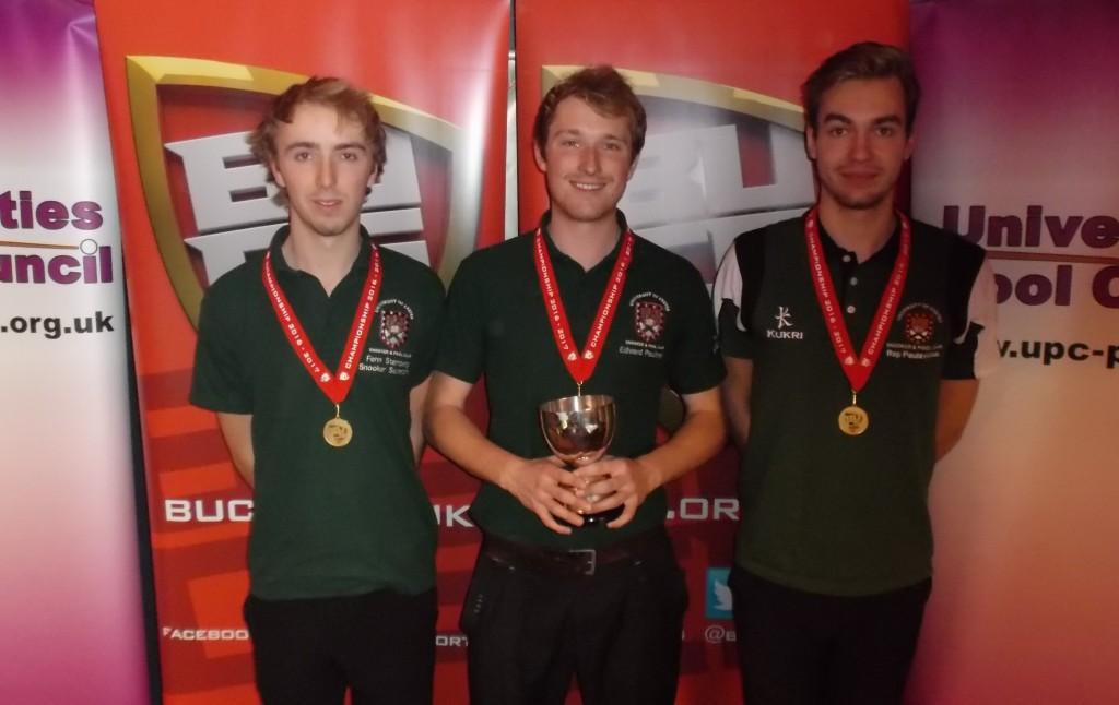 TC 9 1617 - Winners - Exeter 1st